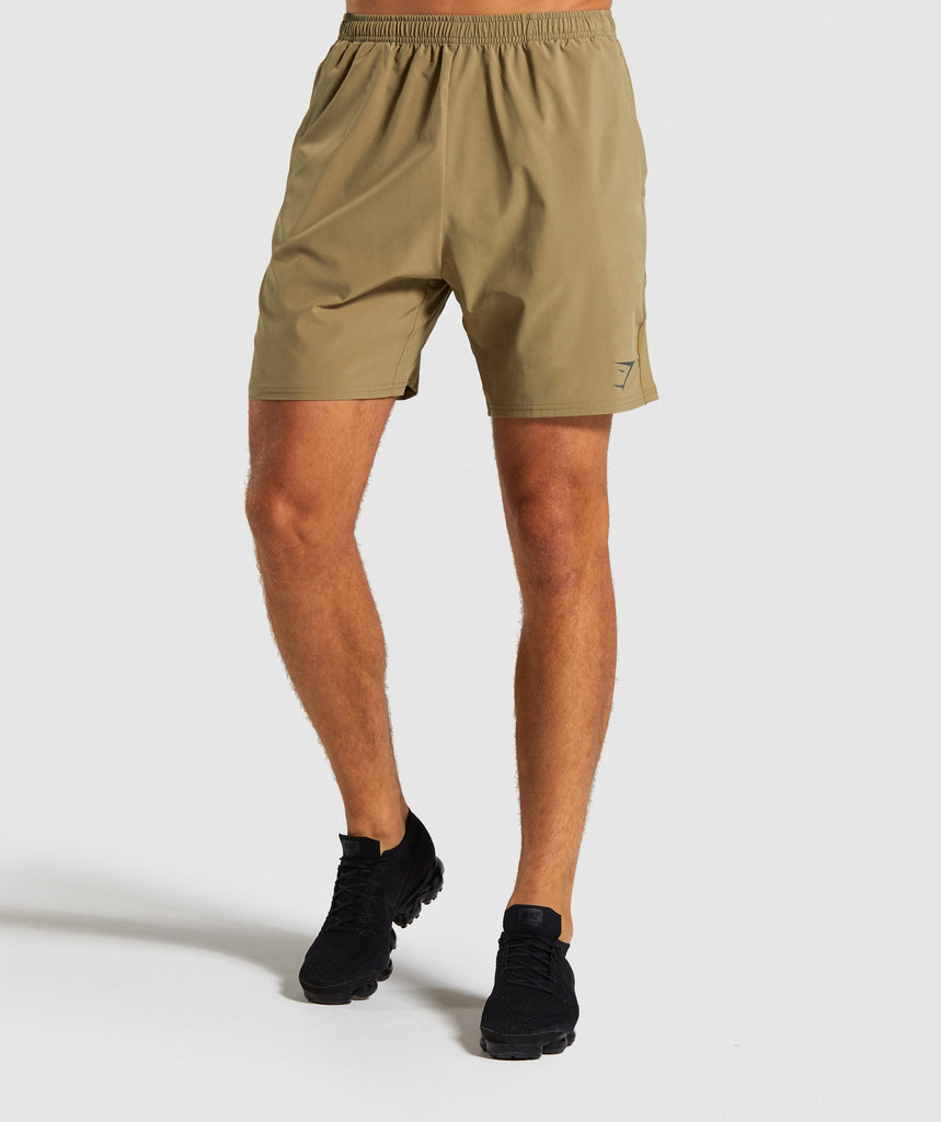 Gymshark Contemporary Shorts - Khaki 1