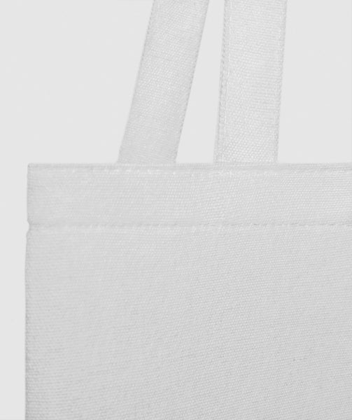 Gymshark Canvas Shopper Bag - White 2