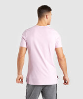 Gymshark Central T-Shirt - Light Pink 8