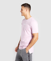 Gymshark Central T-Shirt - Light Pink 9