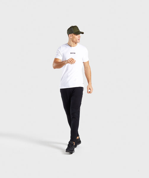 Gymshark Central T-Shirt - White 3