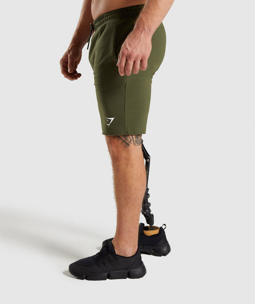 Gymshark Critical Shorts - Green 2