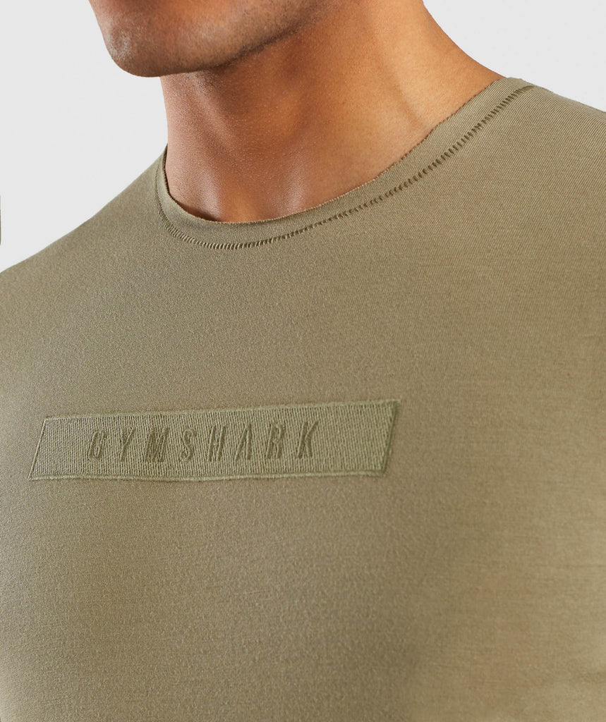 Gymshark Crucial T-Shirt - Light Khaki 5