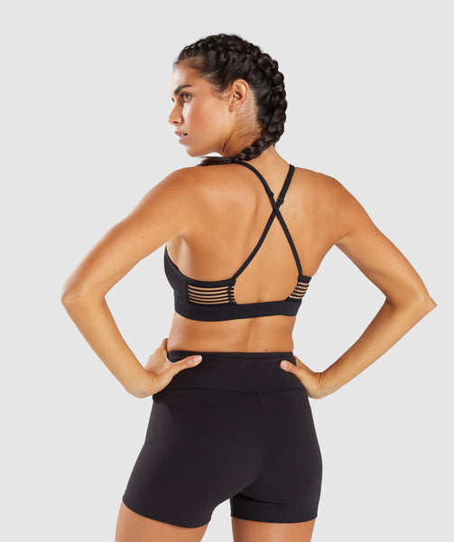 Gymshark Ease Sports Bra - Black 1