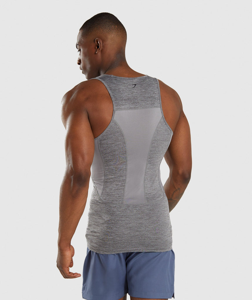 Gymshark Element+ Baselayer Tank - Smokey Grey Marl 2