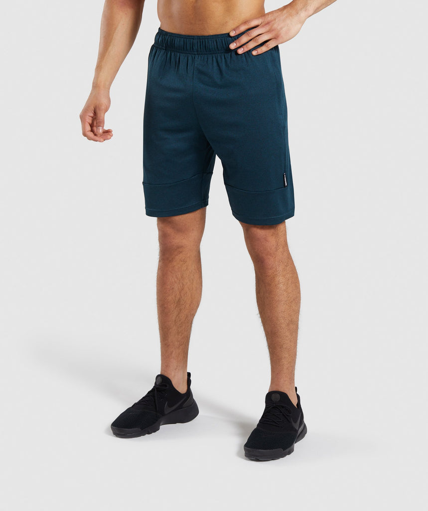 Gymshark Element Shorts - Teal 1