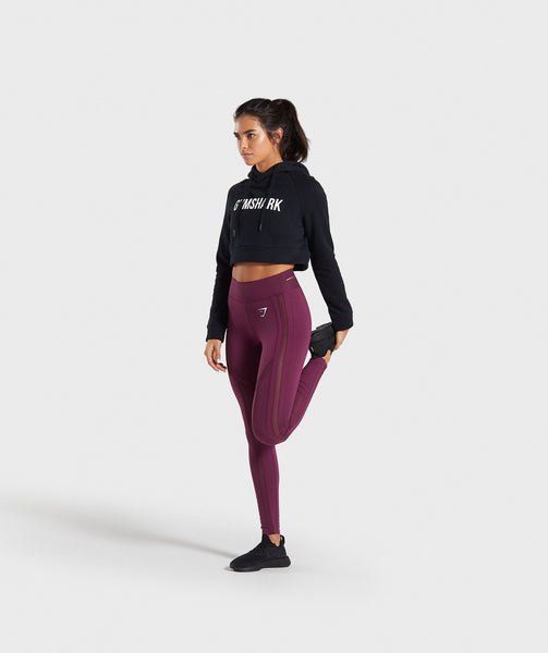 Gymshark Embody Leggings - Dark Ruby 4