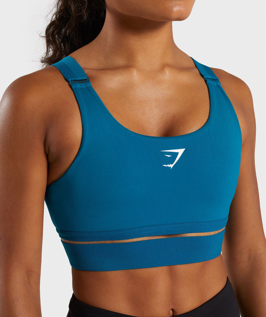 Gymshark Embody Sports Bra - Deep Teal 5