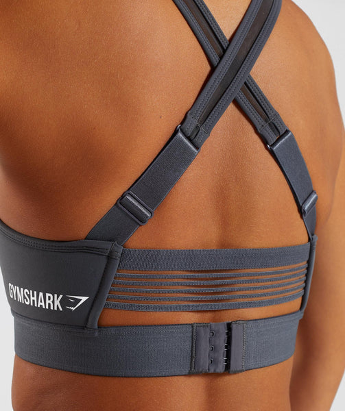 Gymshark Endurance Sports Bra - Charcoal 4