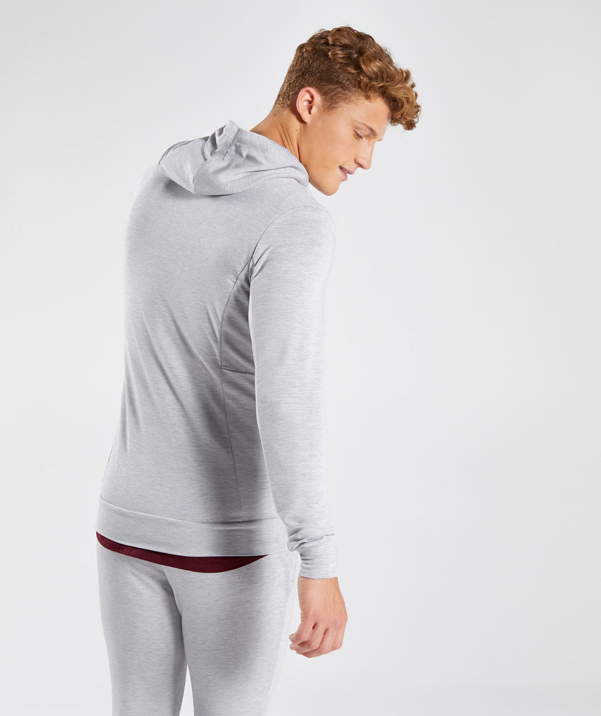 Gymshark Enlighten Zip Hoodie  - Light Grey 2