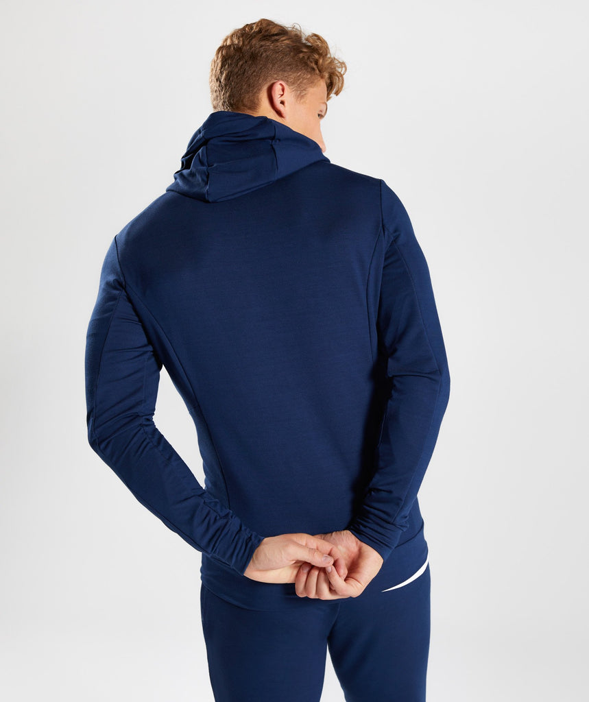 Gymshark Enlighten Zip Hoodie  - Sapphire Blue 2