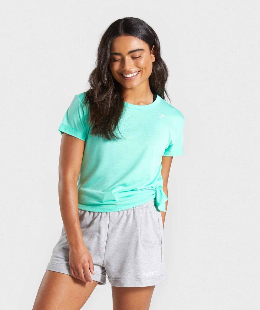 Gymshark Essential Tee - Mint 1
