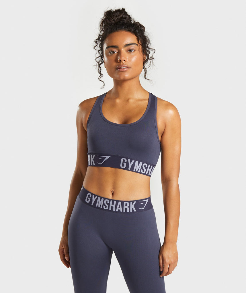 Gymshark Fit Sports Bra - Dark Blue 1