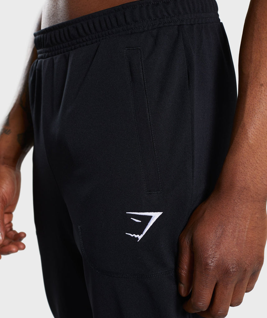 Gymshark Flatlock Bottoms - Black 5