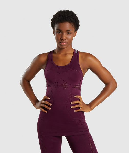 Gymshark Flawless Knit Vest - Ruby 4