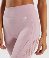 Gymshark Flawless Knit Tights - Washed Lavender 10