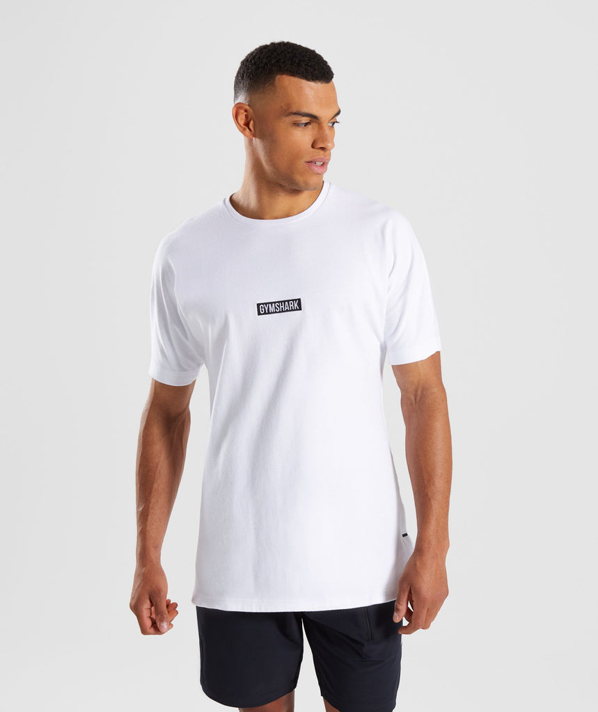 Gymshark Fresh T-Shirt - White 1