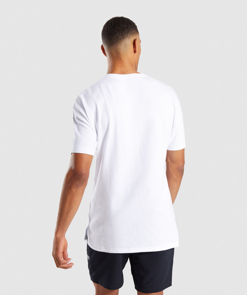 Gymshark Fresh T-Shirt - White 2