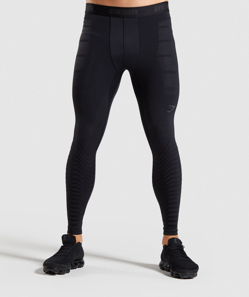 Gymshark Technical Baselayer Legging - Black 1