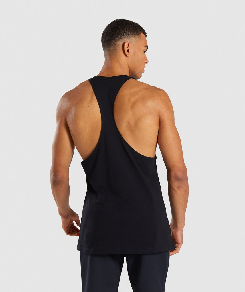 Gymshark Ascend Stringer - Black 2