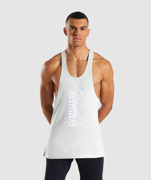 Gymshark Ascend Stringer - Pastel Green 4
