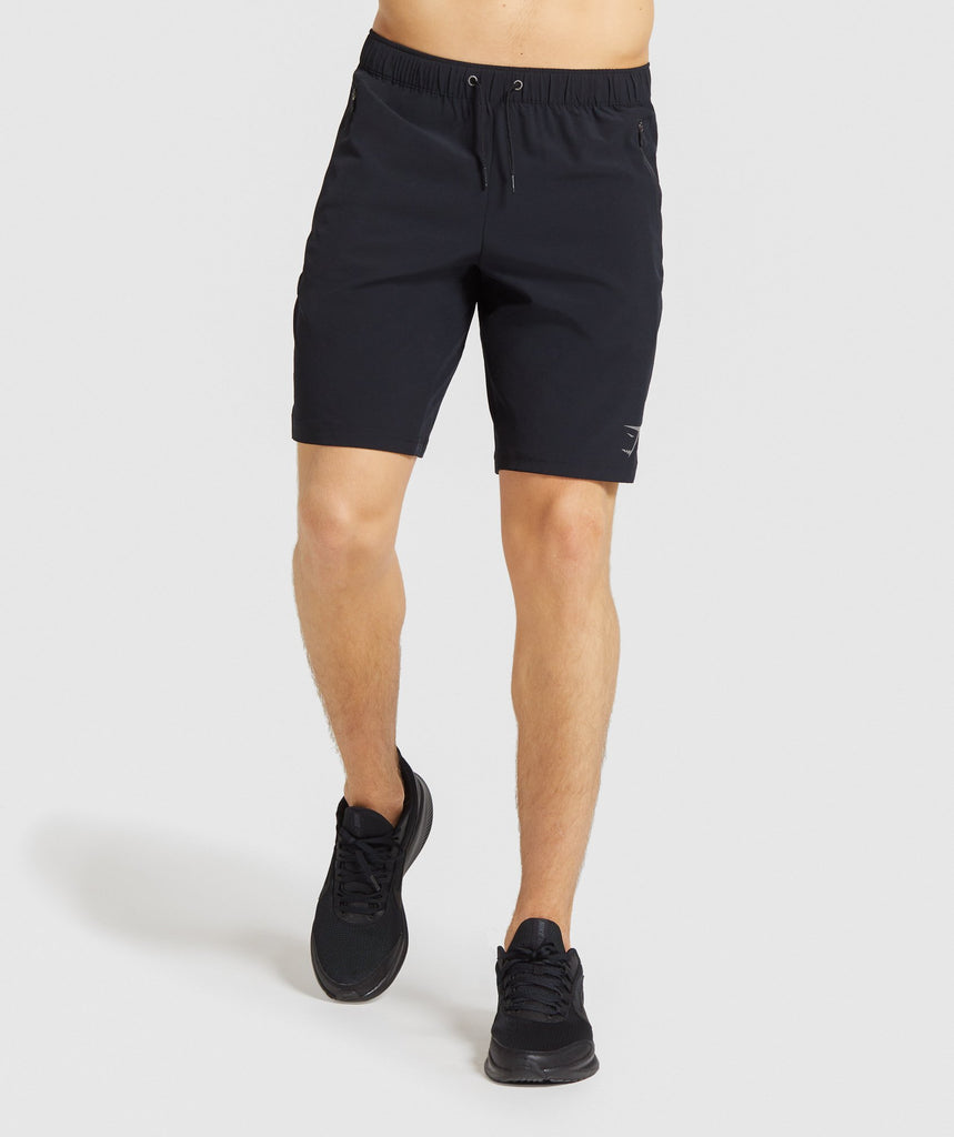 "Gymshark Element Hiit 9"" Shorts - Black 1"