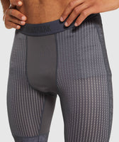 Gymshark Hybrid Baselayer Leggings - Charcoal Marl 11