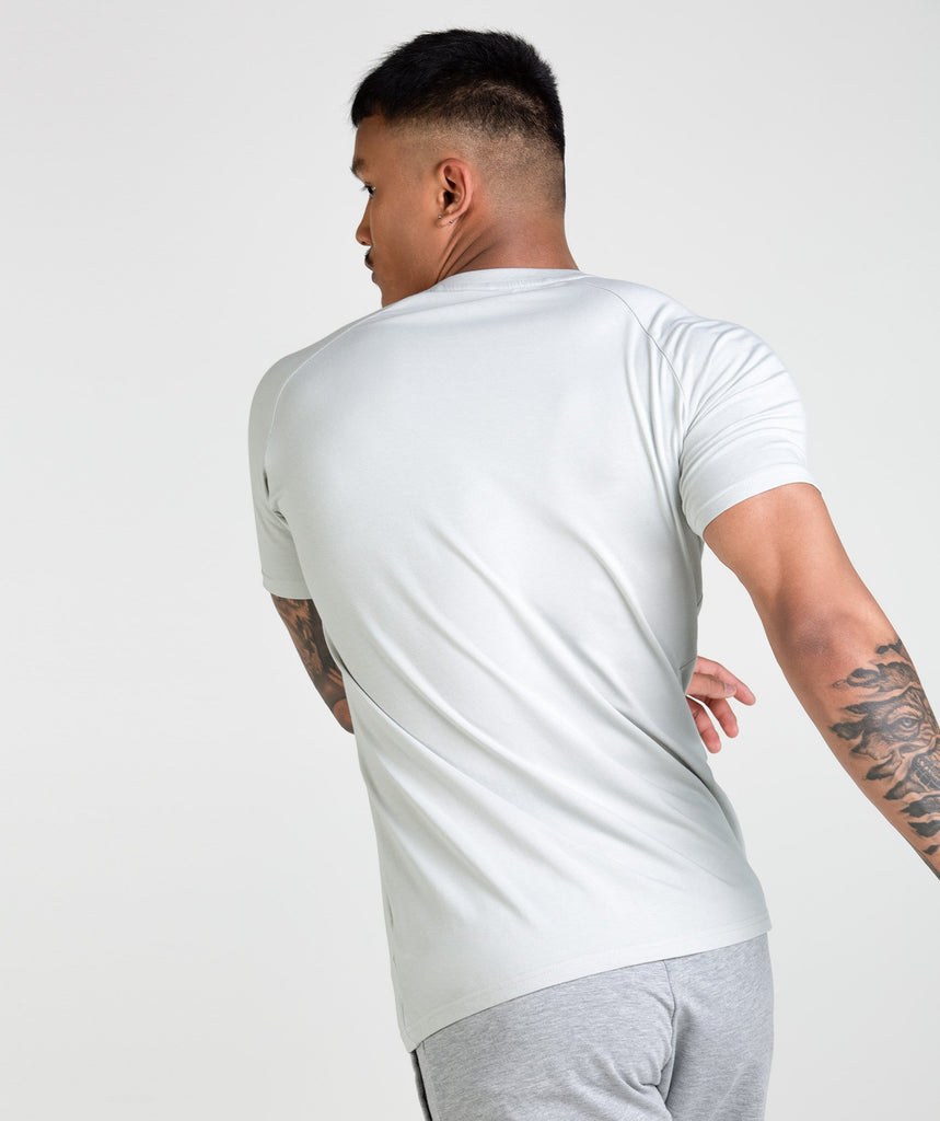 Gymshark Apollo T-Shirt - Pastel Green/White 2