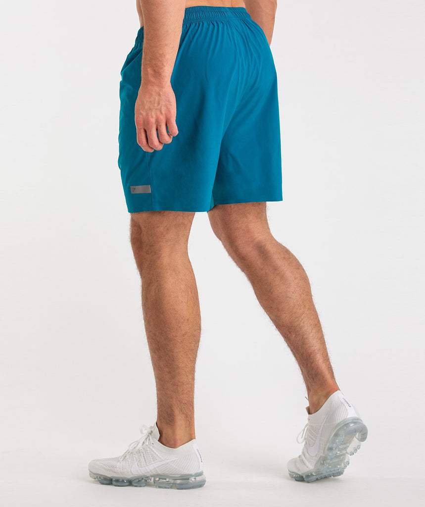 Gymshark Capital Shorts - Deep Teal 4