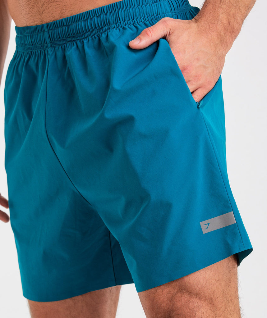 Gymshark Capital Shorts - Deep Teal 5
