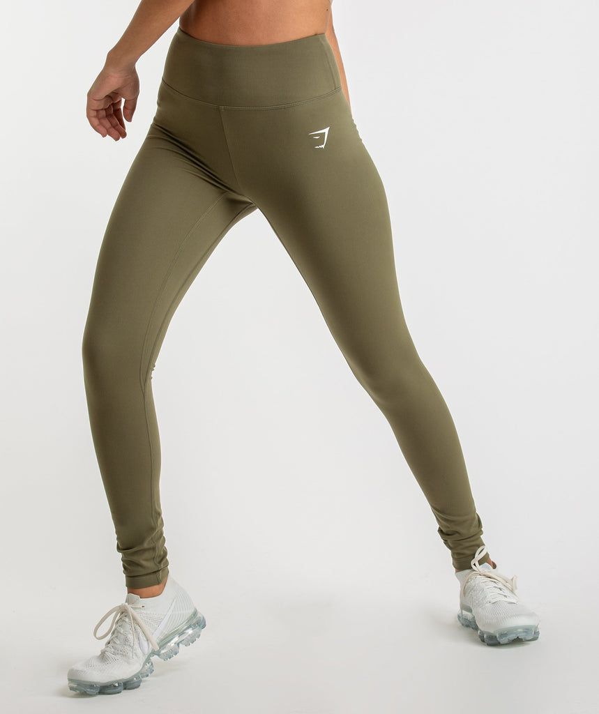 Gymshark Dreamy Leggings - Khaki 1
