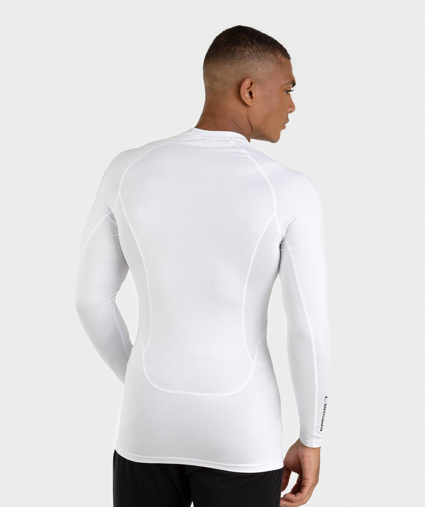Gymshark Element Baselayer Long Sleeve Top - White 2