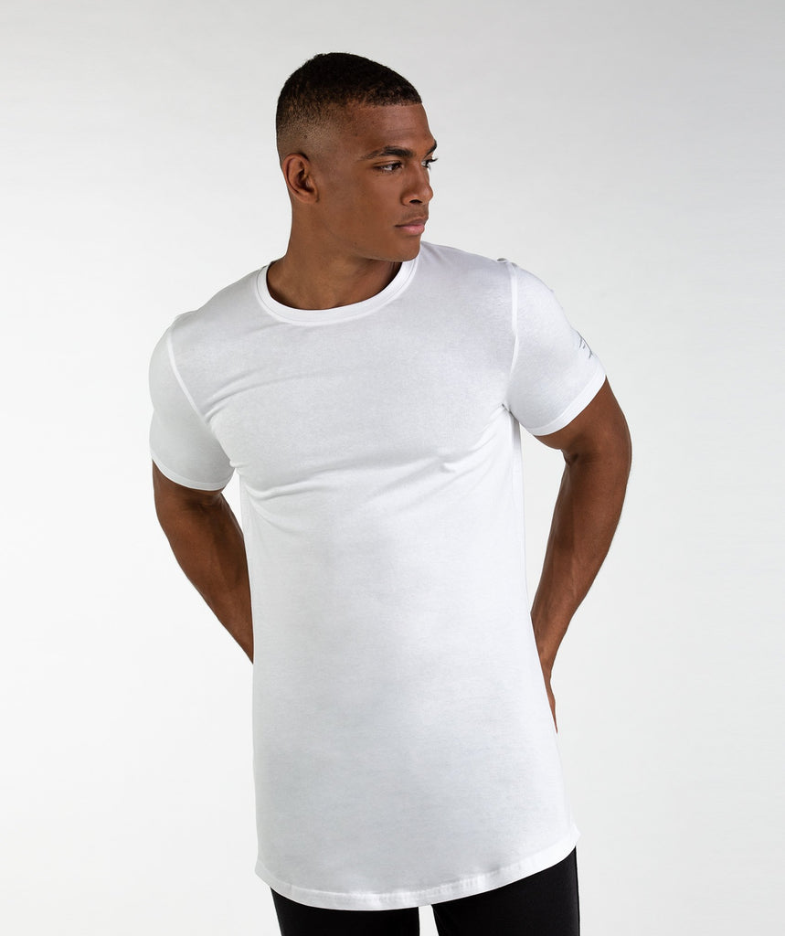 Gymshark Living T-Shirt - White 1