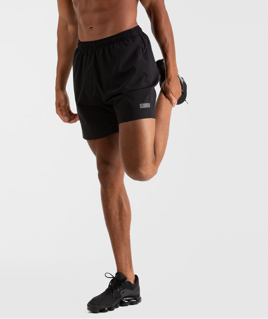 Gymshark Capital Shorts - Black 1