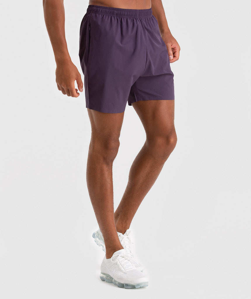 Gymshark Capital Shorts - Nightshade Purple 1