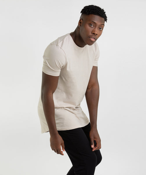 Gymshark Living T-Shirt - Washed Beige 2