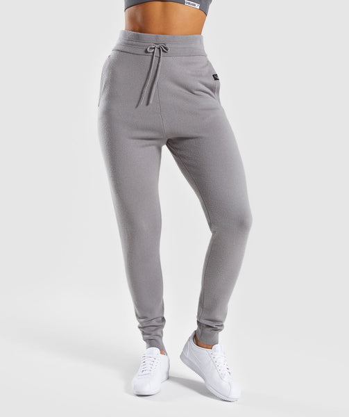 Gymshark Isla Knit Jogger -  Light Grey 4