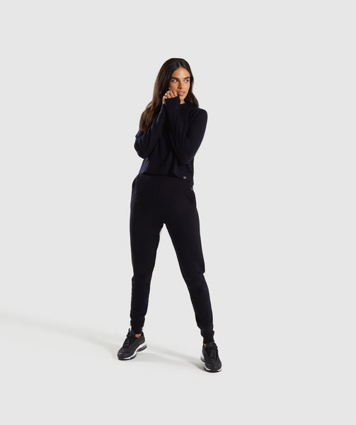 Gymshark Isla Knit Sweater - Black 3