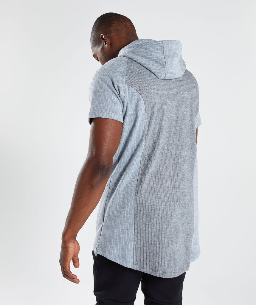 Gymshark Jacquard Pullover - Clear Water Marl 2