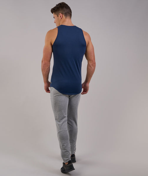 Perforated Longline Tank - Sapphire Blue 3