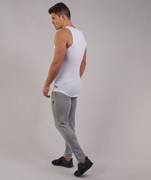 Perforated Longline Tank - White 3