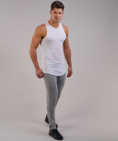 Perforated Longline Tank - White 4