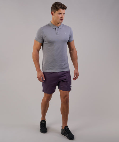 Gymshark Ace Polo - Light Grey 3
