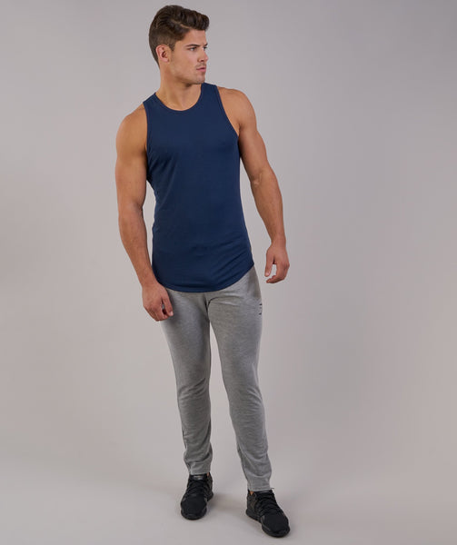 Perforated Longline Tank - Sapphire Blue 2