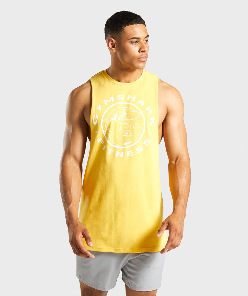 Gymshark Legacy Drop Armhole Tank - Golden Yellow 1