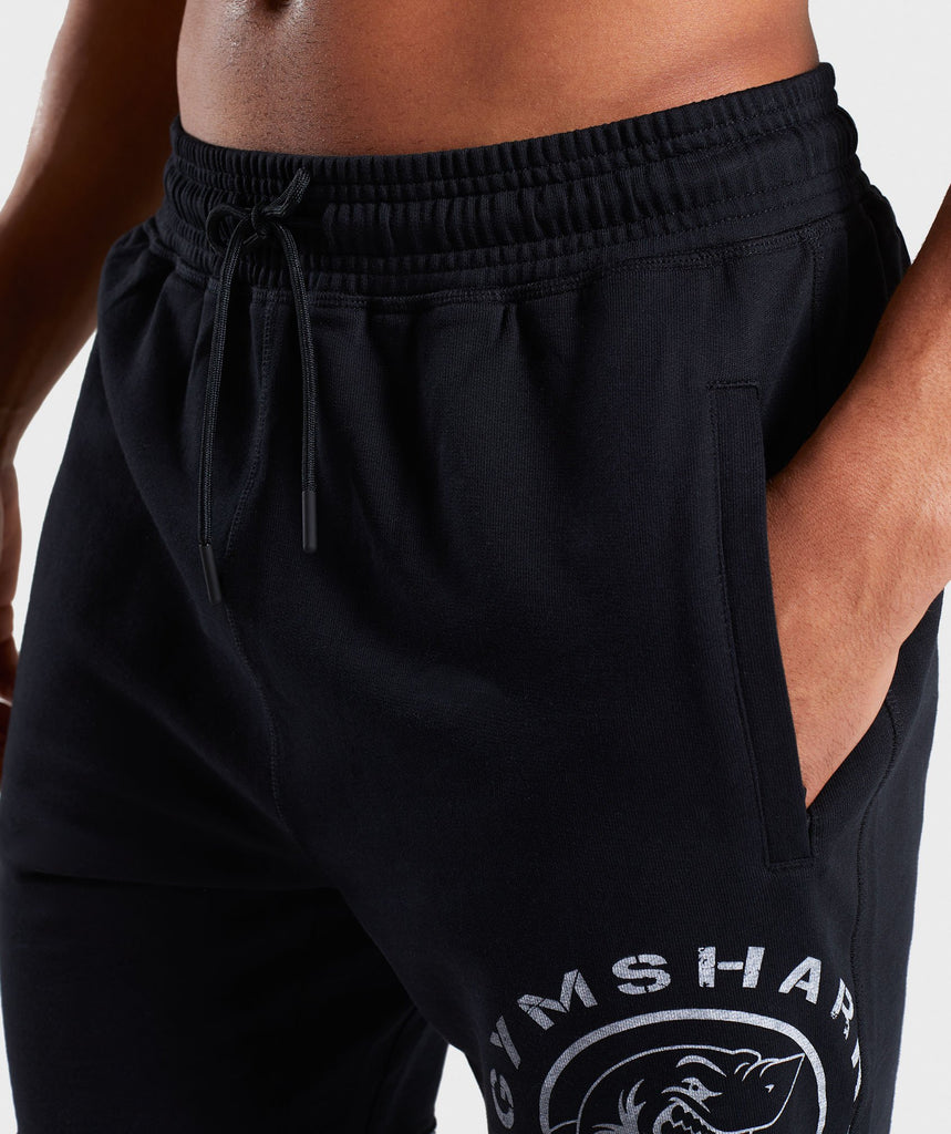 Gymshark Legacy Plus Shorts - Black 6