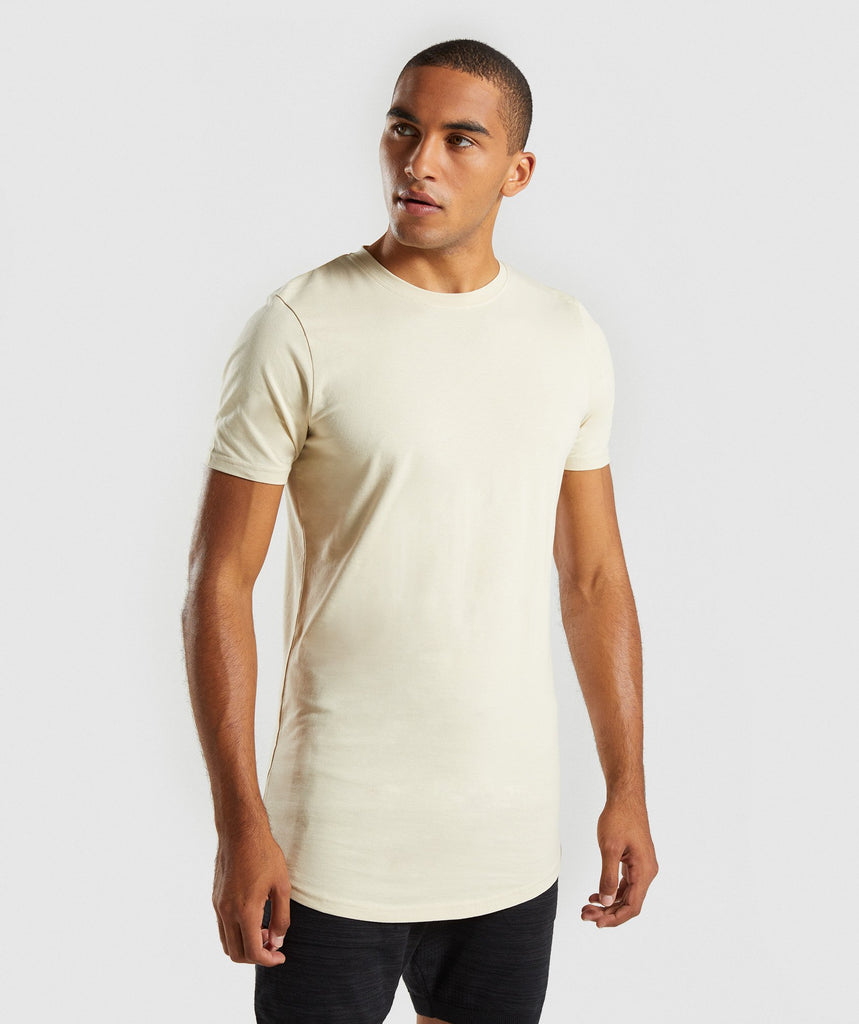 Gymshark Living T-Shirt - Warm Beige 1