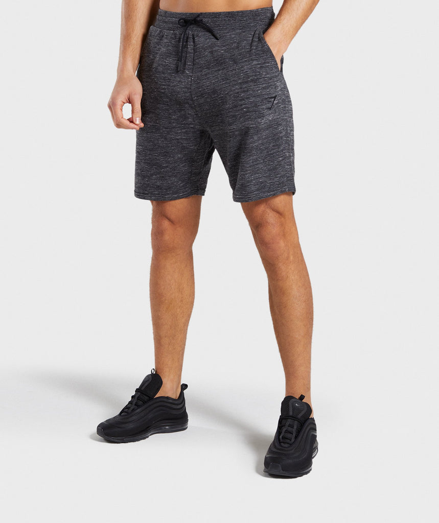 Gymshark Lounge Shorts - Charcoal Marl 1