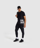 Gymshark Mirror T-Shirt - Black 10
