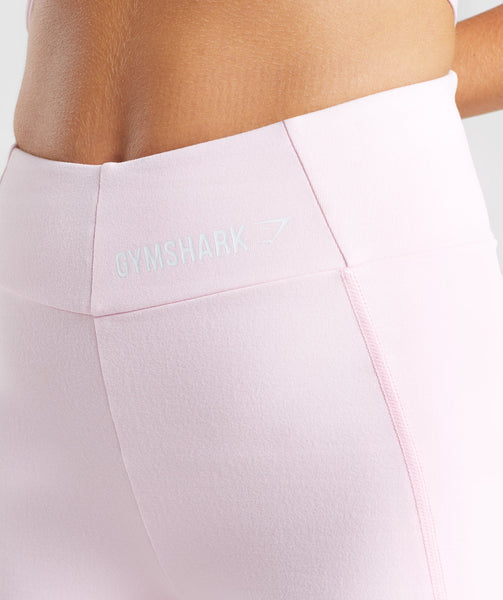 Gymshark Pastel Cycling Shorts - Chalk Pink 4